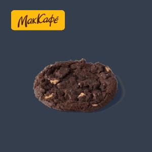 Печенье шоколадное с кусочками шоколада