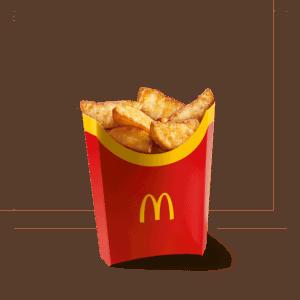 Большой картофель по-деревенски
