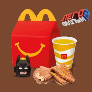 Хэппи Мил. Завтрак с блинами Лего Фильм