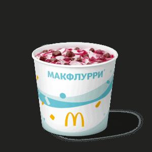 Макфлурри Вишневый пирог