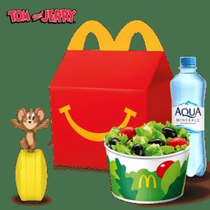 Хэппи Мил Обед с Салатом овощным или Сырными палочками Том и Джерри