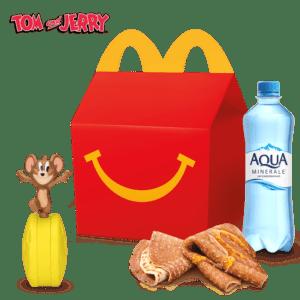 Хэппи Мил Завтрак с блинами Том и Джерри